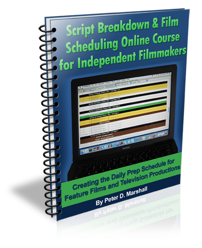Script Breakdown and Film Scheduling Course